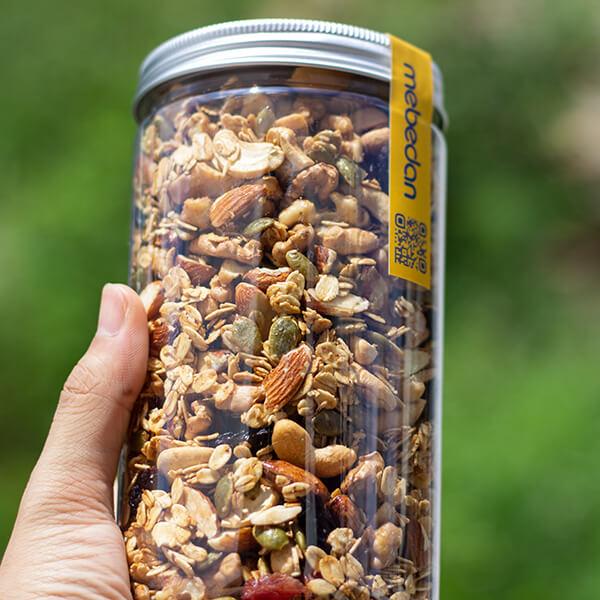 Ngũ cốc granola Mẹ Bé Đan